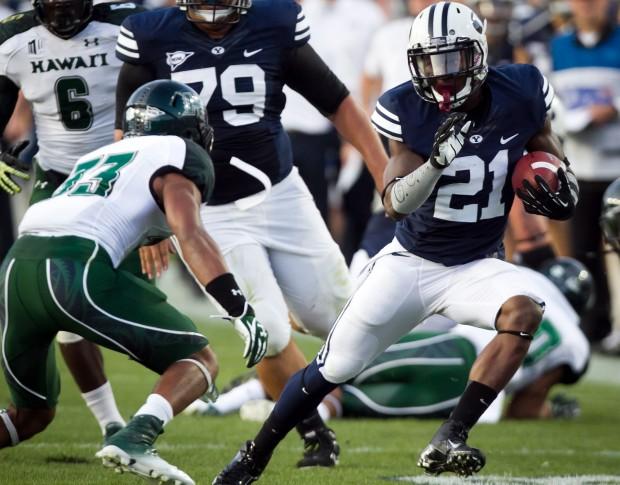Jamaal Williams looks to lead BYU in his sophomore season